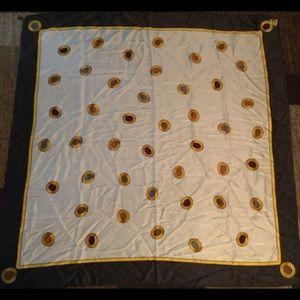 "Vintage Paloma Picasso silk square  scarf  32"""